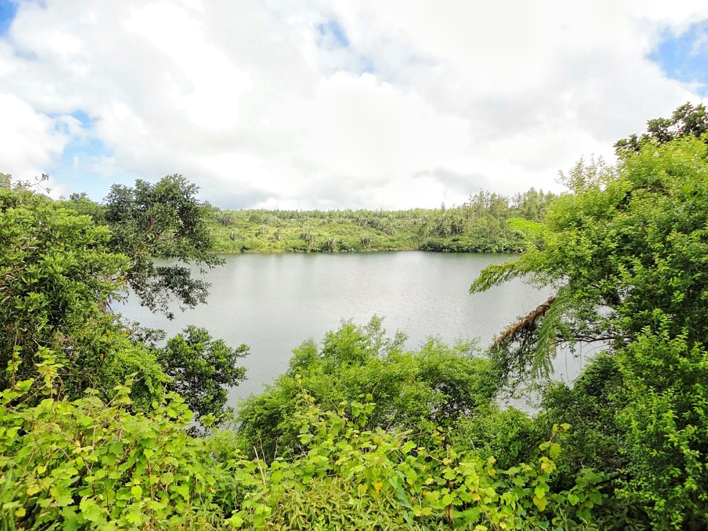 a picture of the Grand Bassin sacred lake