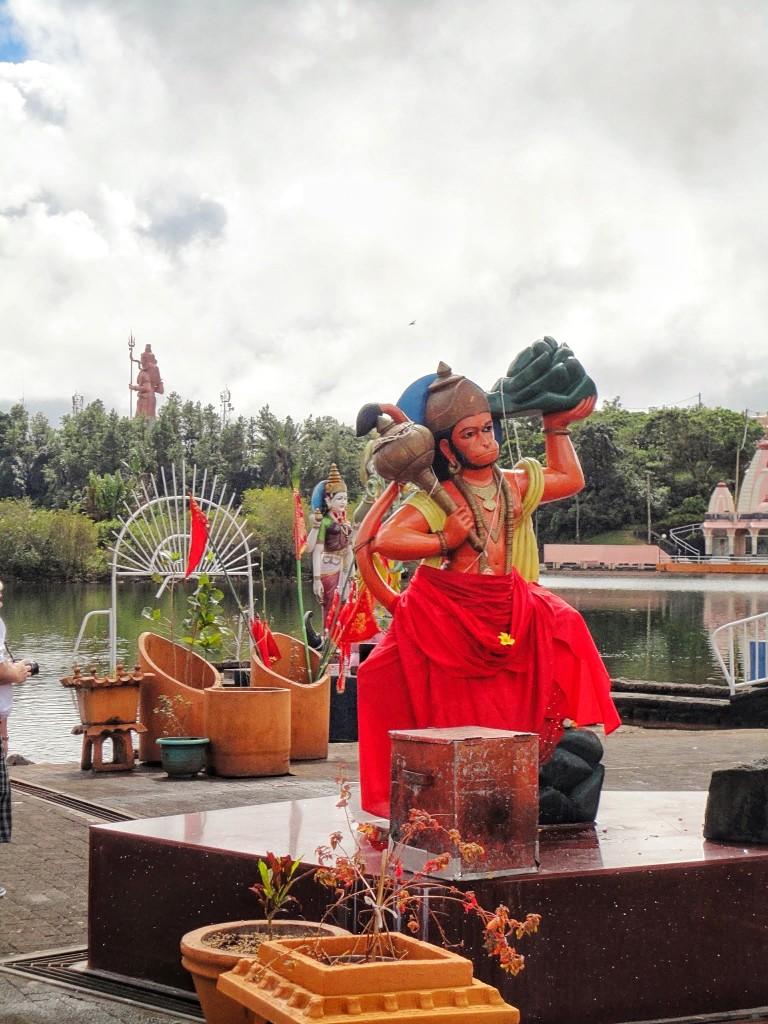 statue of hanuman, a Hindu god