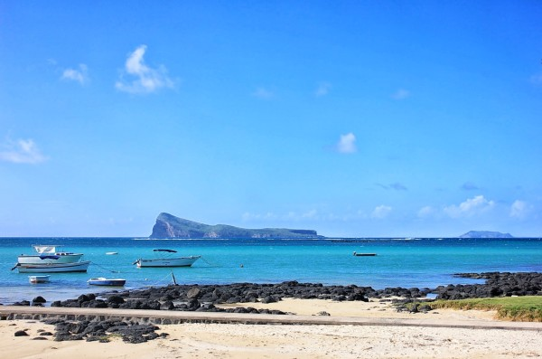 Mauritius beach with