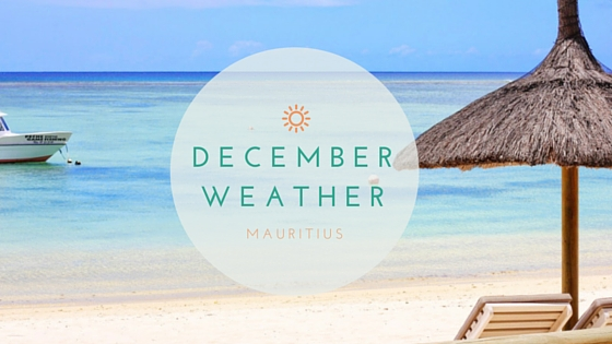 december weather in mauritius